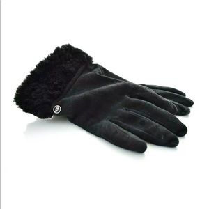 UGG Suede Cashmere Touch Screen Smart Gloves